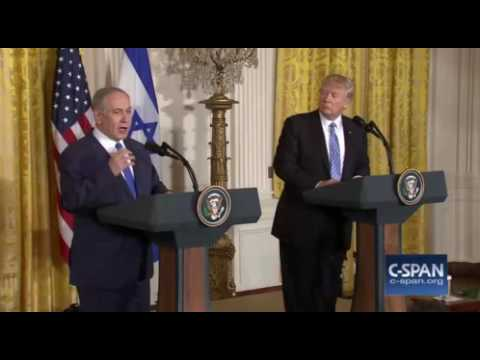Netanyahu Takes A Parting Shot At The Obama Administration In His Opening Remarks