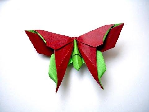 Origami dragonfly lib lula doovi for Romantic origami ideas