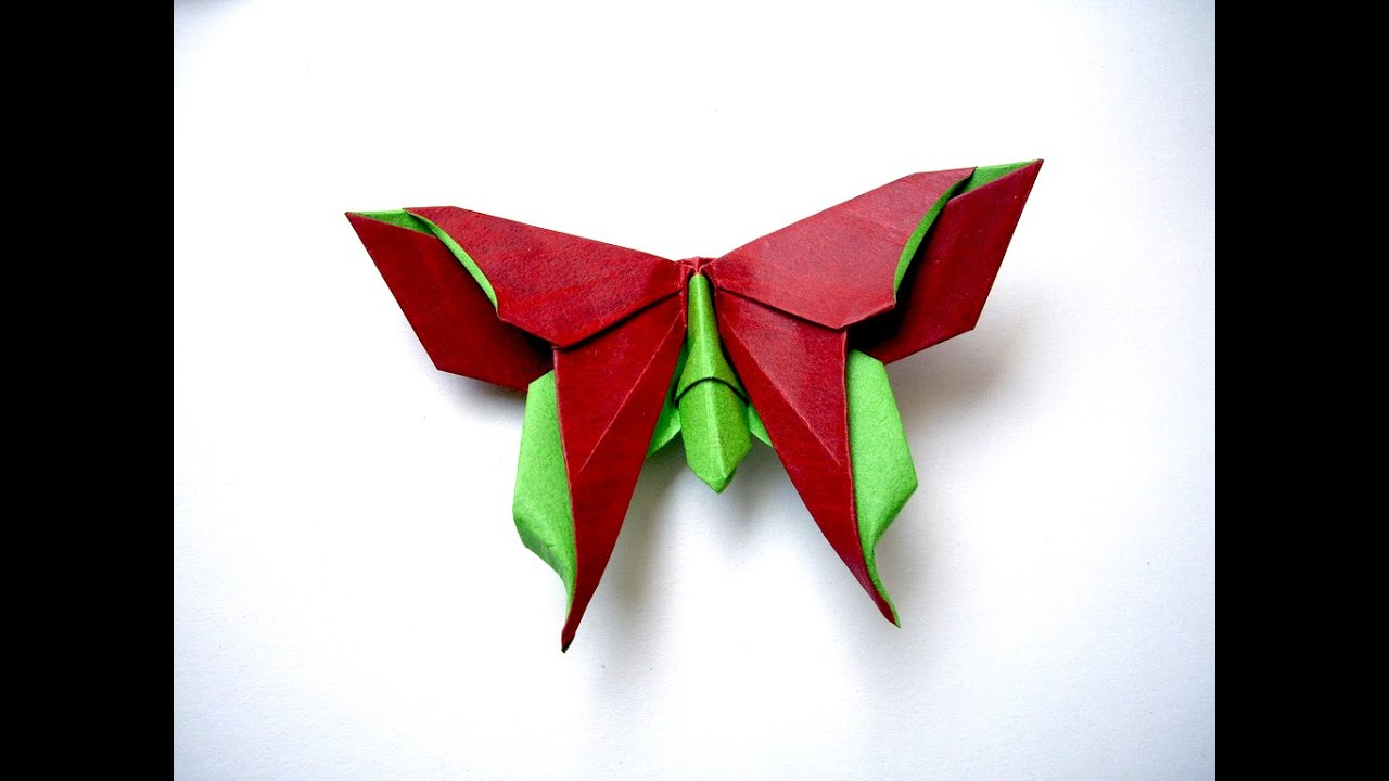 origami butterfly easy to do ideas for romantic gift