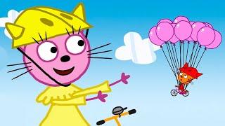 Три Кота | Сборник фантастических серий | Мультфильмы для детей ✈️🚢🚀