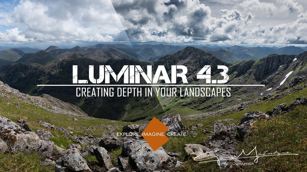 Creating Depth in your Landscapes using Luminar 4.3