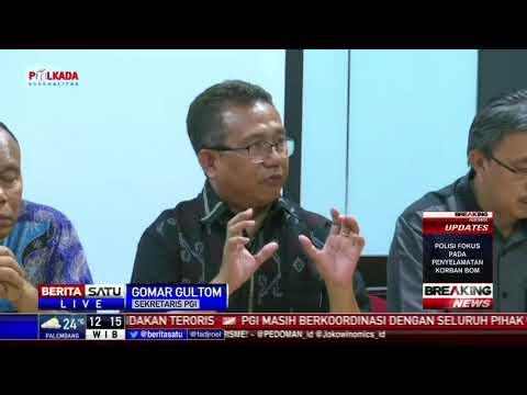 PGI Mengutuk Keras Ledakan Bom 3 Gereja di Surabaya