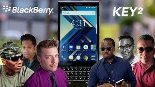 The TRUTH about the Blackberry Key 2: YouTubers REACT!