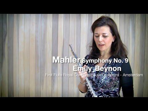 Mahler Symphony No. 9 - flute solo with Emily Beynon