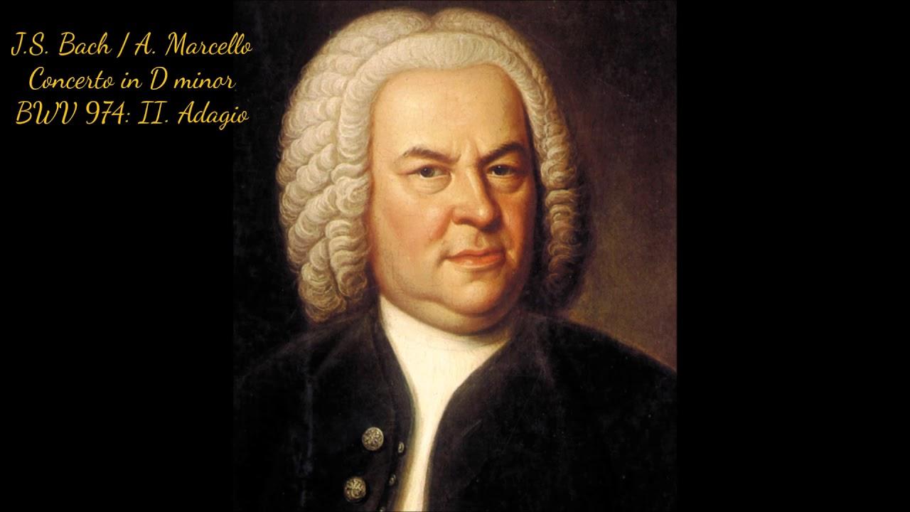 Download J.S. Bach / A. Marcello - Concerto in D Minor, BWV 974: II. Adagio