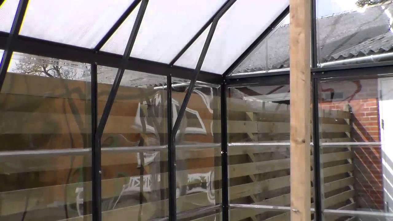 Kæmpestor Drivhus fra Jem og Fix Model Orangery 10,5 m2 - YouTube VK96