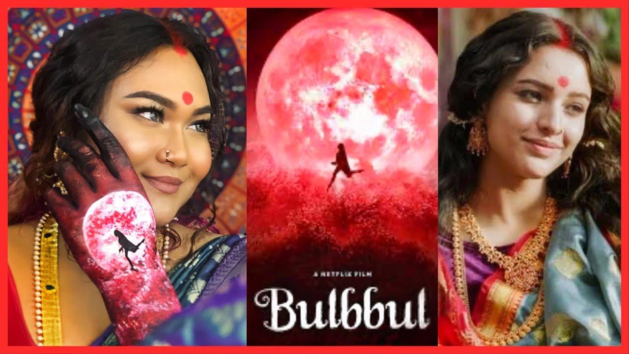 BULBBUL (Tripti Dimri) Inspired Makeup Tutorial | Raisa Naushin
