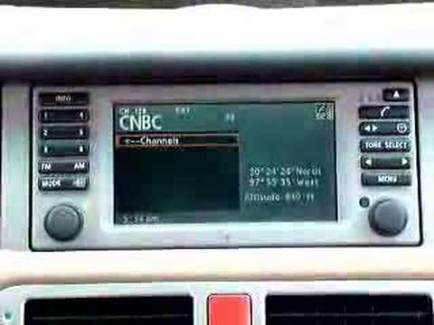 Upgrading the Radio module in the 2003-2004 Range Rover