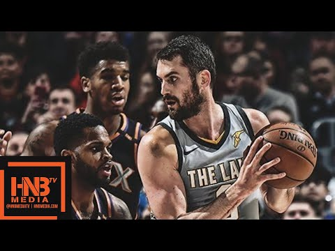 Cleveland Cavaliers vs Phoenix Suns 1st Qtr Highlights / March 23 / 2017-18 NBA Season