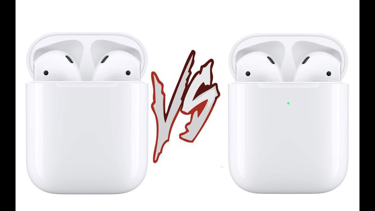 Apple Airpods 2 Vs Apple Airpods 2 With Wireless Charging Case