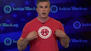 Tom Fitton Needs YOU to Support Judicial Watch--Get Your Official T-Shirt Today!