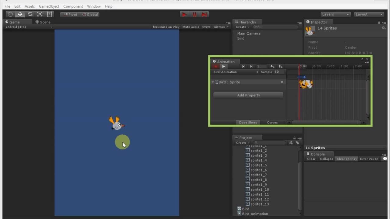 Making Spritesheet Animation Unity 2d Simply Youtube