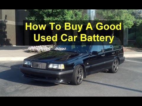 Used Car Batteries Near Me >> How To Buy A Good Used Car Battery Great Savings Junk Yard