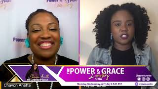 Passionate about God & Author- Power & Grace Leaders Show
