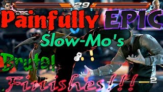 Painfully Epic Slow-Mo's & Brutal Finishes!!! Vol. #1