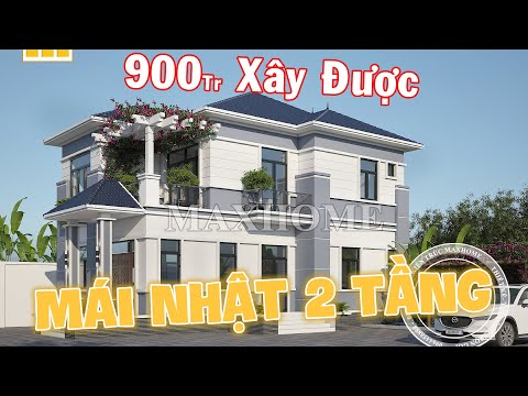 Mẫu nhà mái nhật 2 tầng quá đẹp và đẳng cấp tại Ninh Bình