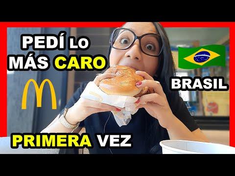 Download 🍔🍟VISITANDO un MCDONALD'S en BRASIL por PRIMERA VEZ - Foz do Iguaçu   PEDÍ LA HAMBURGUESA MÁS CARA 💰