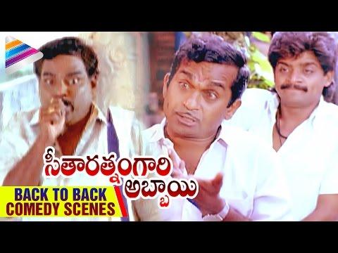 Seetharatnam Gari Abbayi Movie | Back To Back Comedy Scenes | Kota Srinivasa Rao | Babu Mohan