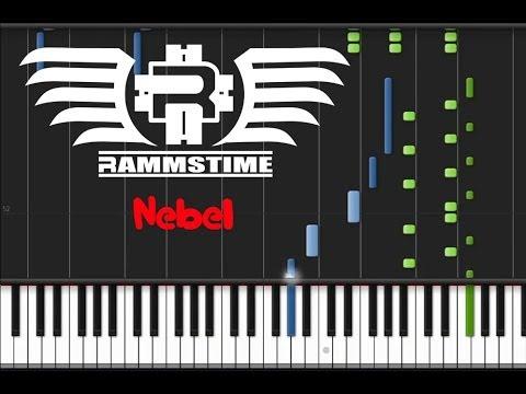Rammstein - Nebel (♫) (Instrumental + Synthesia)
