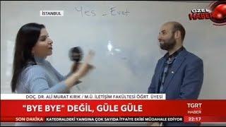 TGRT Haber - Doç. Dr. Ali Murat Kırık - Dilde Yozlaşma Sorunu