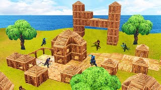 BUILDING A NEW CITY ON FORTNITE! (Battle Royale)