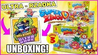 Super Zings seria 3 ⚡ Mr KING ⚡ Ultra rzadka figurka