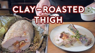 Download Binging with Babish: Clay-Roasted Thigh from Hannibal (feat. You Suck at Cooking) Mp3 and Videos
