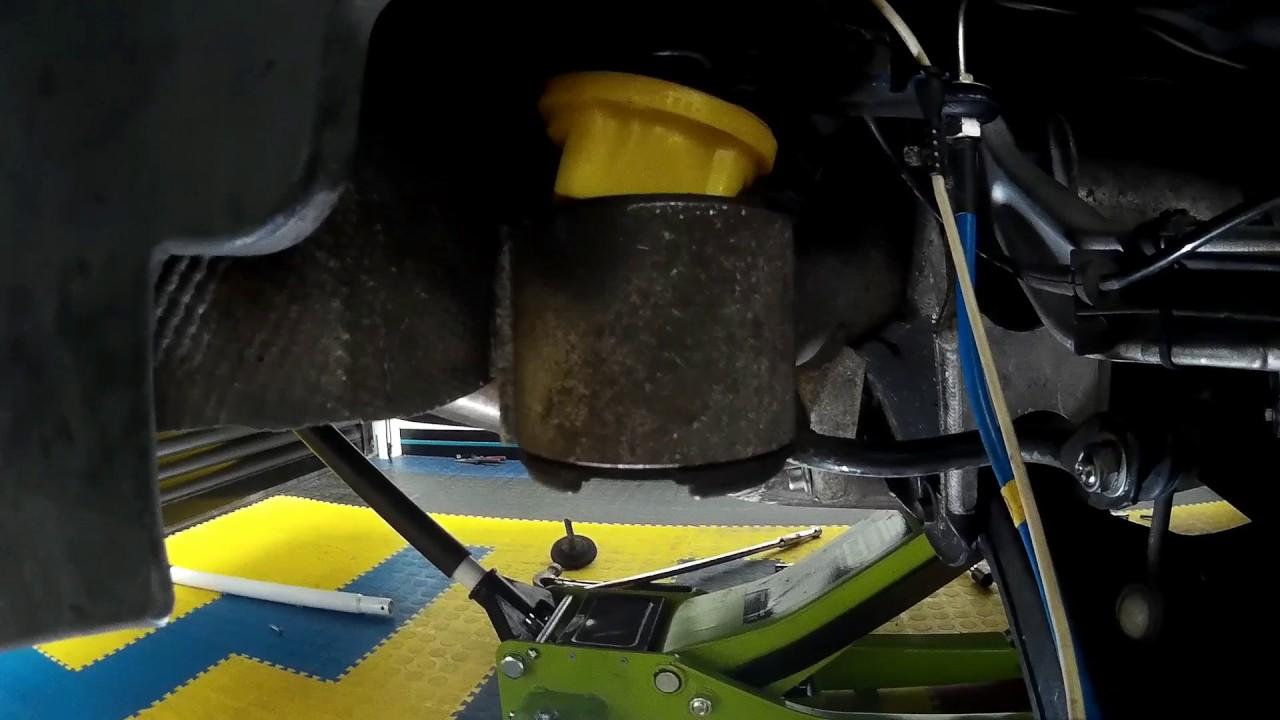 BMW E39 S62 V8 M5 Powerflex Subframe Bush Inserts DIY How ...