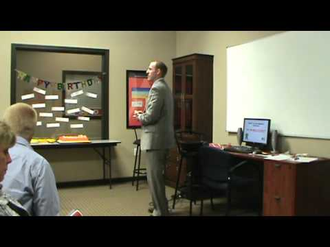 Team Meeting 08/06/2012 Keller Williams Realty West part 1