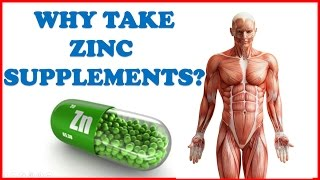 Take Zinc Supplement for these Amazing Health Benefits!!