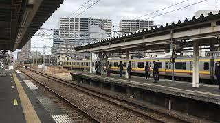 E233系南武線各駅停車川崎行き 矢向到着