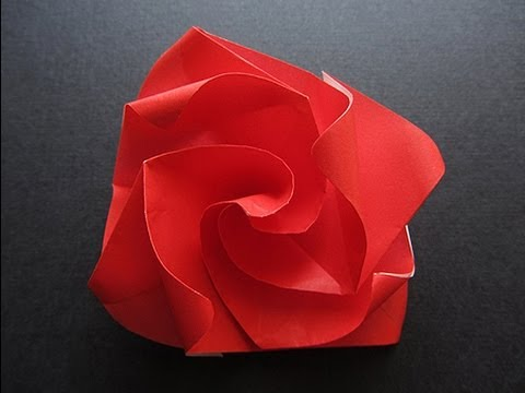 Origami easy twisty rose youtube origami easy twisty rose mightylinksfo
