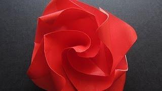 Origami Easy Twisty Rose