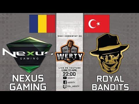 🔴(LIVE RO CS:GO) NEXUS GAMING (RO) vs. ROYAL BANDITS (TUR) - SEMIF. CEVO LBRACKET $15K