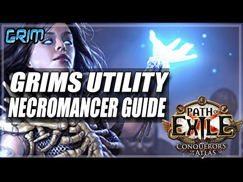[Path Of Exile 3.9] Grim's Guide To Necromancer The Ultimate Utility Character