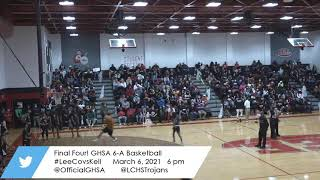 Final Four Basketball: Lee Co vs. Kell