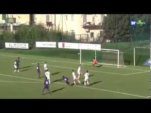 Josh Perez goal - Fiorentina Primavera (U19) 2-2 Cesena