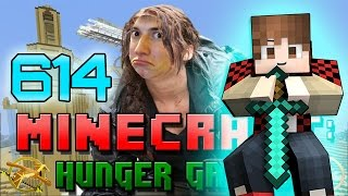 Minecraft: Hunger Games w/Bajan Canadian! Game 614 - Lucky Diamonds!