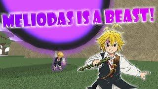 MELIODAS IST EIN BEAST!! | Roblox: Anime Kreuz 2