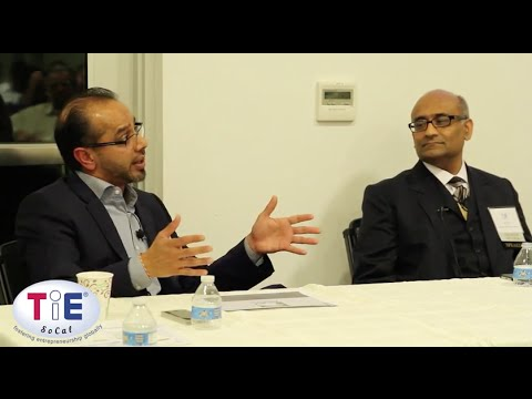 TiE SoCal Bank Financing with Ash Patel,Commercial Bank and Brij Patel, CEO, Alliance Funding