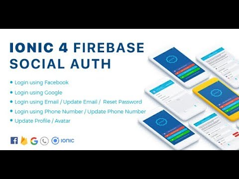 Authy - Ionic 4 Firebase Auth Full App / Phone Auth / Google / Facebook /  Email for Android and iOS
