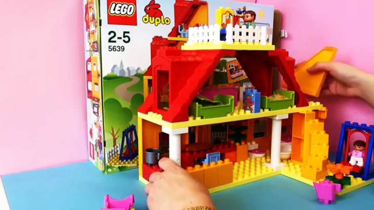 duplo ville familienhaus lego demo teil 2 youtube. Black Bedroom Furniture Sets. Home Design Ideas