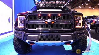 2017 Ford F-22 Raptor F150 by Ford Performance - Exterior Walkaround - 2017 SEMA Las Vegas
