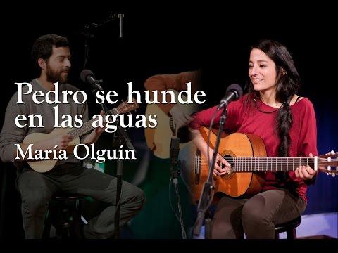 María Olguín - Pedro se hunde en las aguas (en EWTN)