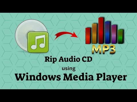 How To Rip Audio CD To MP3 Using Windows Media Player Tutorial