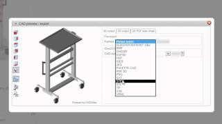item info video on 3D PDF datasheets