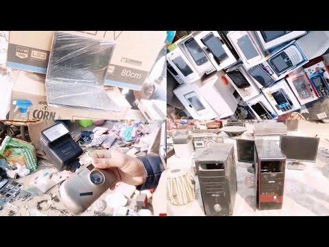 CHOR BAZAAR | ELECTRONIC MARKET | LAPTOPS | MOBILE PHONES | CAMERAS | LED TV | DELHI  | VLOG - 12