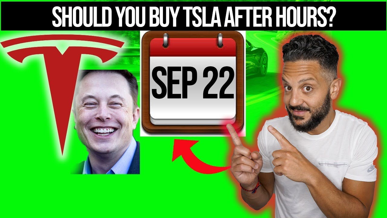 Stock market after-hours: Tesla Battery Day live event!