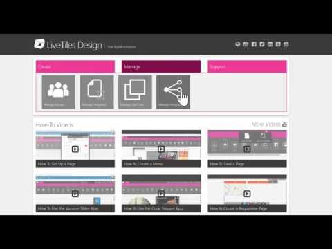 Manage API Integrations | LiveTiles Design
