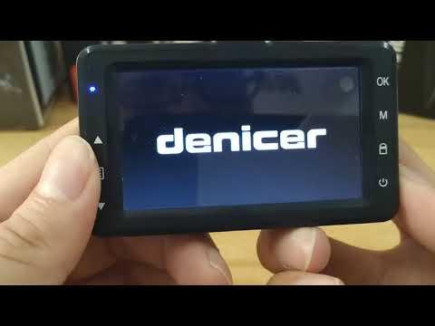 How Is The Dash Cam G-sensor Working Denicer D720D